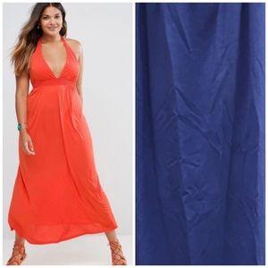 {anthro} Ella Moss maxi dress